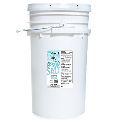 50lbs. Magnesium Sulfate , comes in a Re-sealable Plastic Pail (50 POUNDS) ()
