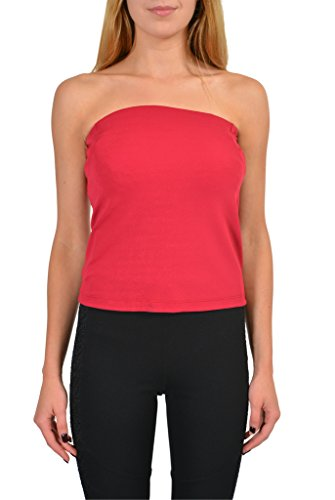 Maison Martin Margiela Red Sleeveless Women's Cropped Top US M IT - Martin Margiela Designer