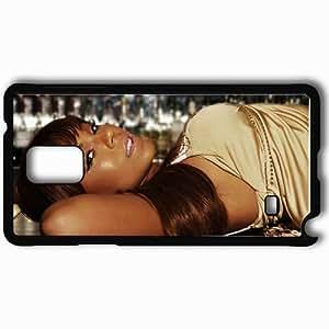 Personalized Samsung Note 4 Cell phone Case/Cover Skin Ashanti Dark Skinned Dress Charm Glance Mulatto Black