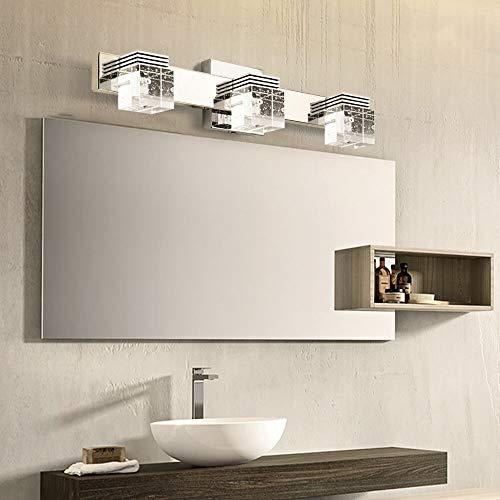 Decoroom Bathroom Vanity Lights Mirror Light Fixtures LED Crystal Make Up Lamps -