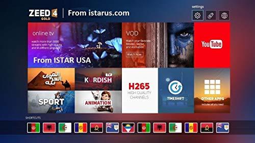 iSTAR Korea Zeed4 OTT 2019 Full Hd Free Arabic African Turkish