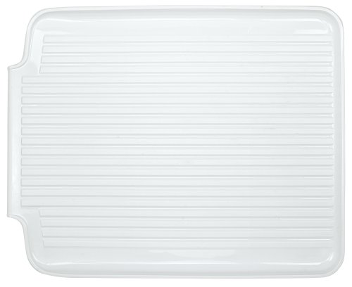Better Houseware 1480/W Large Dish Drainer Board, White