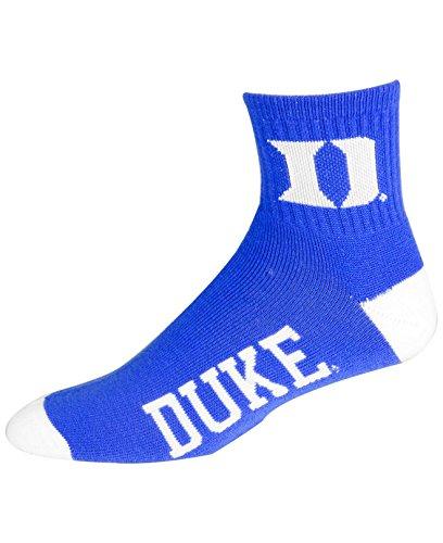 Duke Blue Devils Team Color Quarter Socks