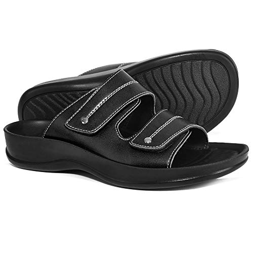 30abf1dfa7b AEROTHOTIC Original Orthotic Comfort Dual Strap Sandals and Flip Flops with Arch  Support for Comfortable Walk