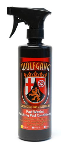 Wolfgang Concours Series WG-7700 Werks Polishing Pad Conditioner, 16 fl. oz.