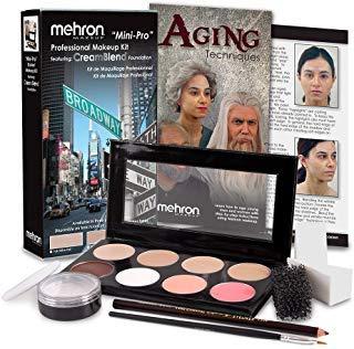 Mehron Mini-Pro Theatrical Kits Fair Complexion -