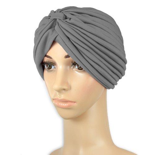 Londonmagicstore® Gadgets Full Head Turban Headwrap Indian Style Head Wrap  Bandana Hat Hair Loss Chemo 9a020ff5a28