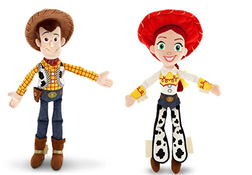 dy and Jessie Doll Set (Disney Character Plush Doll)
