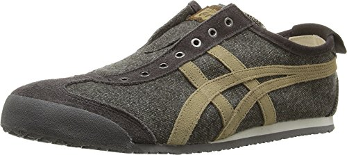 hot sale online c06e7 bd9c0 ... discount code for galleon onitsuka tiger by asics unisex mexico 66 slip  on mid brown light