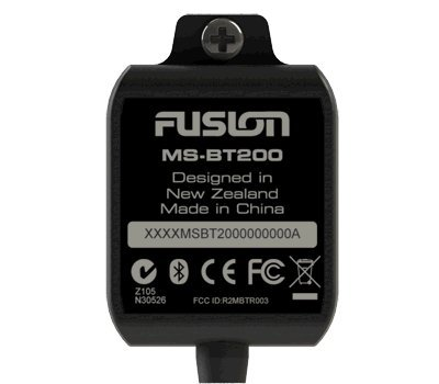 Fusion MS-BT200 Bluetooth Dongle for Fusion 700 Series and MS-RA205 Marine Stereos (Marine Blutooth Radio)