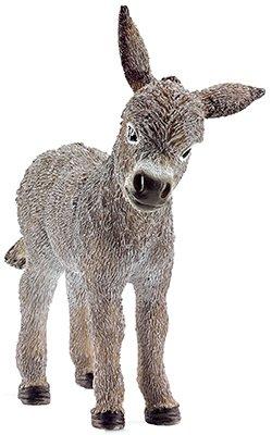 Schleich 13746 Donkey Foal Figurine, Gray