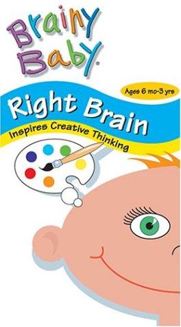 Brainy Baby - Right Brain [VHS]