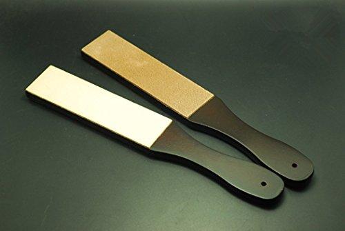 Inton Leathercraft Knife Blade Sharpener Whetstone Stand Rouge Stick Leather Sharpener Grinding Set (Japanese) by Inton (Image #3)