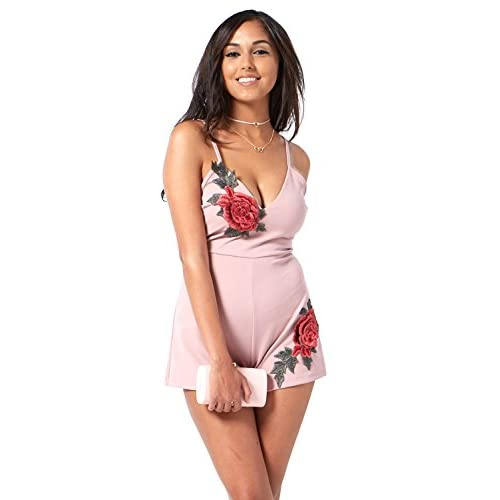 Cheap edgelook Rose Day Baby Romper for sale