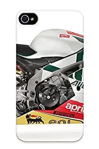 New Snap-on Runandjump Skin Case Cover Compatible With Iphone 4/4s- Aprilia Rsv4