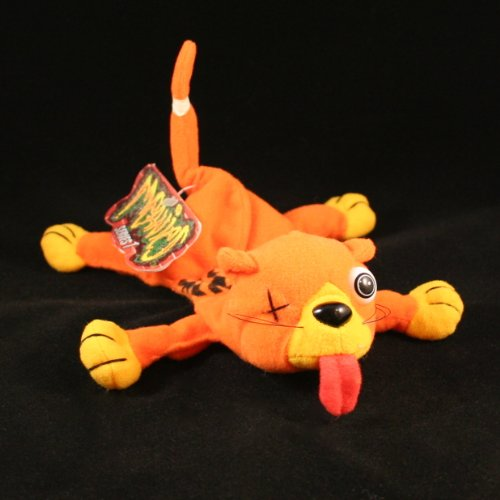 SPLAT THE ROAD KILL CAT MEANIES Series 1 Bean Bag Plush Toy From The Idea Factory
