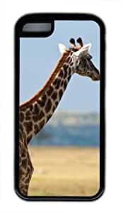 Africa wildlife giraffes Custom PC Transparent Case for iPhone 5C by icasepersonalized