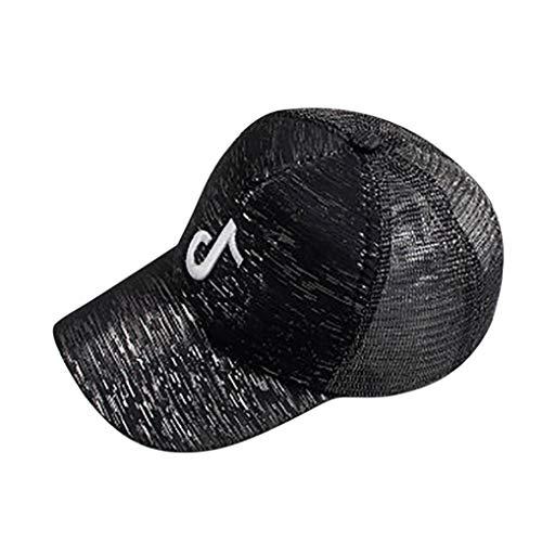 Musical Baseball (PIKAqiu33 Unisex Adjustable Musical Embroidery Mesh Fashion Baseball Cap (Black))