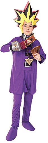 UHC Boy's Yu Gi Oh Deluxe Kids Child Fancy Dress Party Halloween Costume, S (4-6)]()