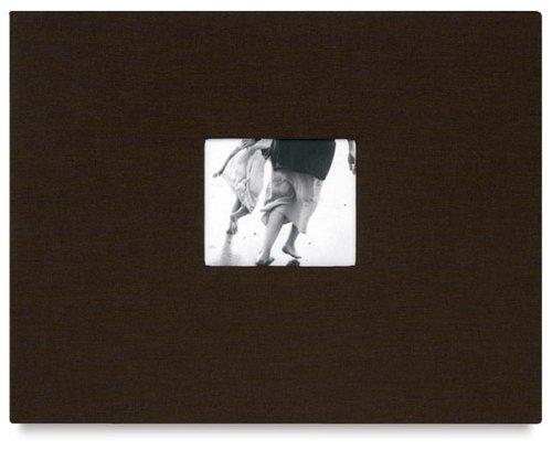 Newport' postbound LAKE BLUE/white cloth album 11x14 by Kolo - 11x14