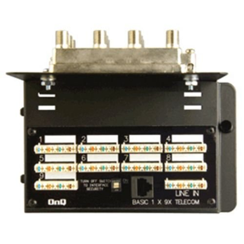 02 Amplified System - On-Q/Legrand 9x8 Basic Combo Module, Security, Amplified (364725-02)