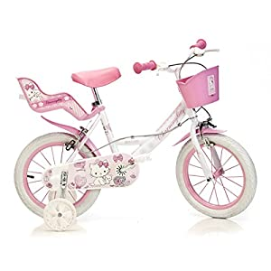 dino bikes 16 inch charmmy kitty children 39 s bike amazon. Black Bedroom Furniture Sets. Home Design Ideas