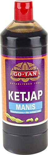 Go-Tan Ketjap Manis sojasaus, 1 liter, 6 stuks