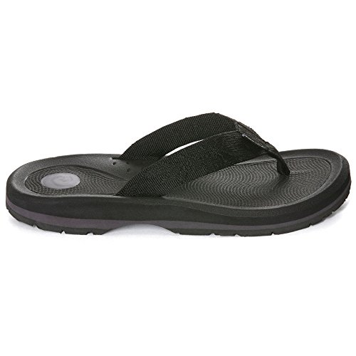 Rafters Women Tsunami Anemone Solid Sandals Black 6 ()