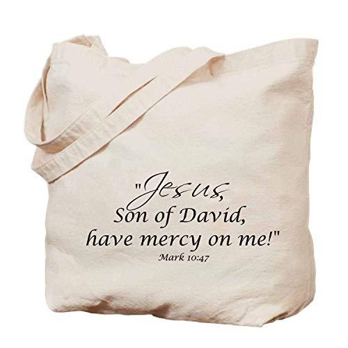Bible handbag- tote bag,shopping bag,beach bag - fashion bag - 14x17in-Mark 1047 Jesus, Son of David, Have Mercy on Me (Son Of David Have Mercy On Me)