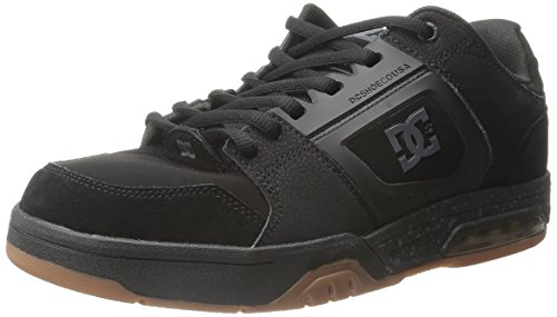 DC Men's Rival Skate Shoe, Black, 10 M US