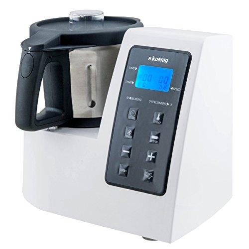 H.Koenig HKM1028 Küchenmaschine, 1300 W Kochleistung