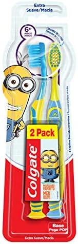 Escova Dental Colgate Smiles Minions 6+ Anos 2unid Promo c/ Desconto