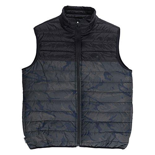 Element Men's Puff Tw Vest Map Camo S