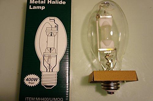 - Plusrite 1022 400W ED28 Metal Halide Reduced Envelope Unprotected Arc Tube 4200K ANSI M59/E Universal Burn by Plusrite