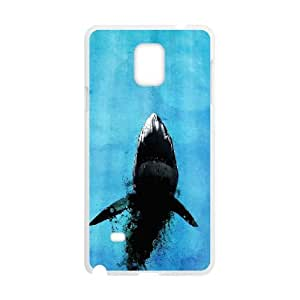 Samsung Galaxy Note 4 Cell Phone Case White Jaws Custom Phone Cases Protective CZOIEQWMXN13951