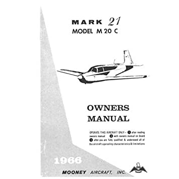 Mooney Mark 21 M20B Owners Manual