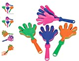 (24) 7.5'' Hand Clappers ~ NOISE MAKERS ~
