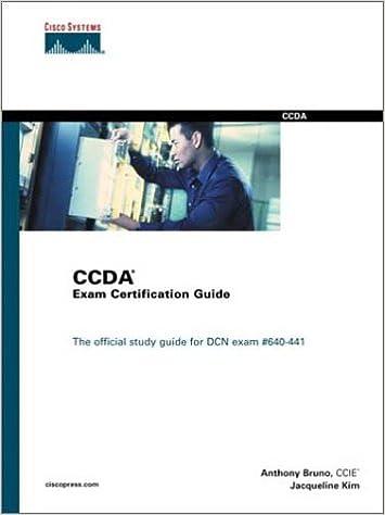CCDA Exam Certification Guide