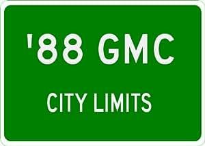 1988 88 GMC SAFARI City Limit Sign - 10 x 14 Inches