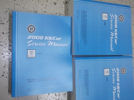 2008 GM CADILLAC DTS D T S Service Shop Repair Workshop Manual Set FACTORY NEW