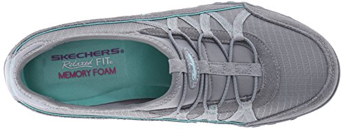 Skechers Breathe-easy big-break - Zapatillas Mujer Gris - gris (Gry)