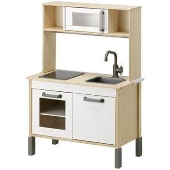 Ikea Duktig Mini-kitchen, Birch Plywood, White