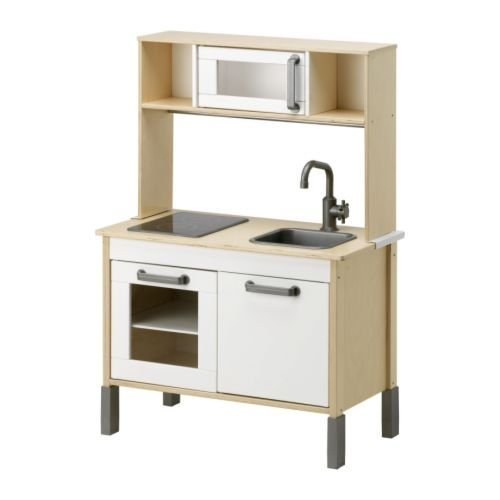 Ikea Duktig Mini-kitchen, Birch Plywood, White ()