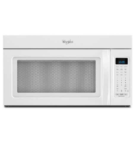 Whirlpool WMH32517AW 1.7 Cu. Ft. White Over-the-Range Microwave