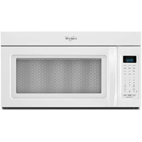 Whirlpool WMH32517AW 1 7 Cu Ft White Over The Range Microwave