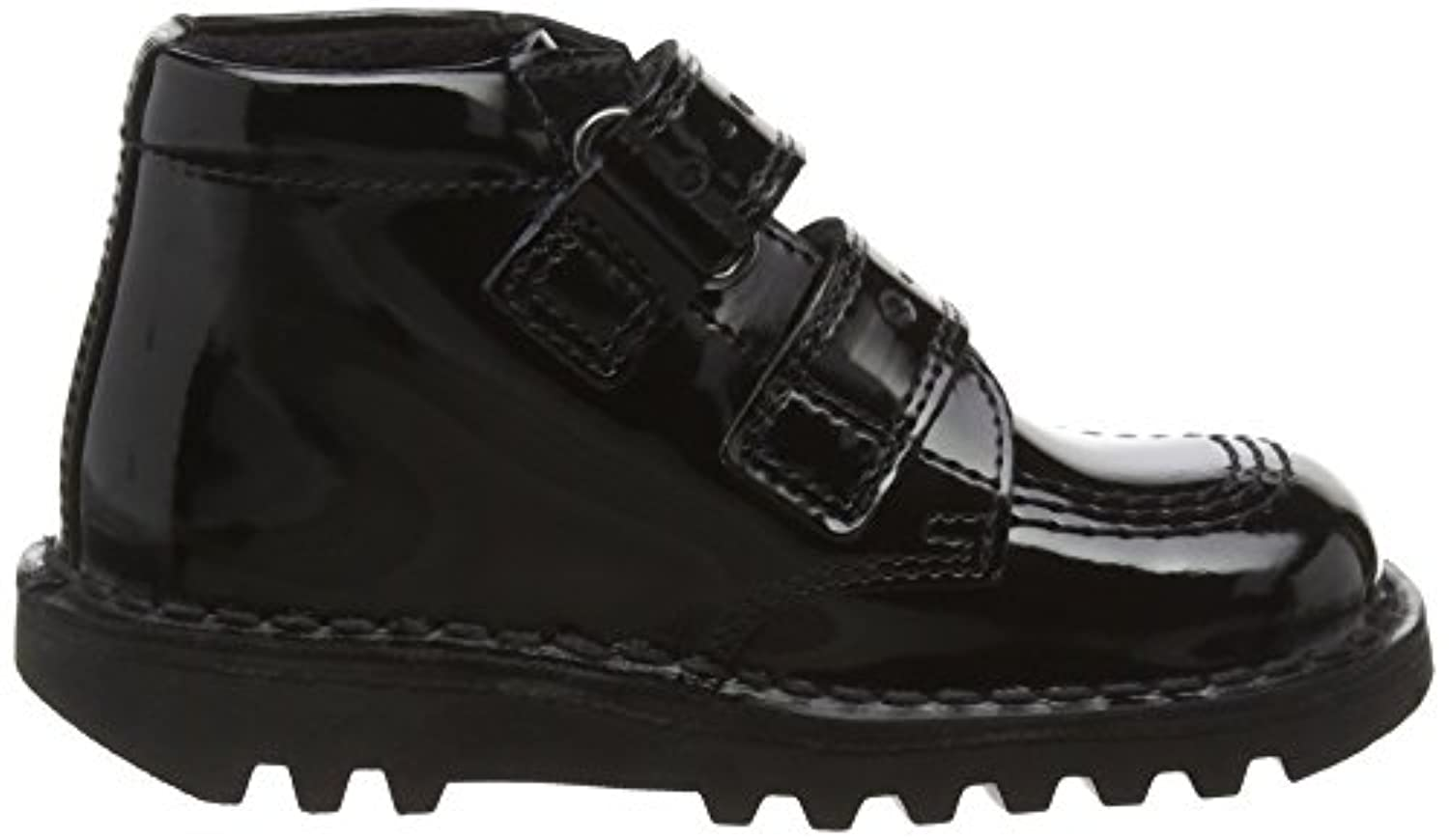 Kickers Girls' Kick Flutter Infants Ankle Boots, Black (Black), 5 Child UK 22 EU