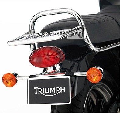 Triumph Bonneville Chrome Luggage Rack A9738191