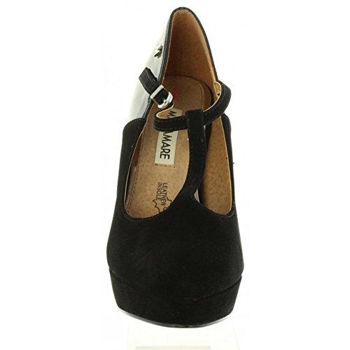 Zapatos de tacón de Mujer MARIA MARE 61255 C6473 PEACH NEGRO