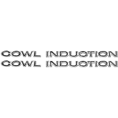 Performance Trends C980308 Cowl Induction Hood Panel Emblem 1970-72 - Emblem Cowl