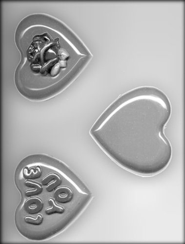 CK Products Hearts Chocolate Mold